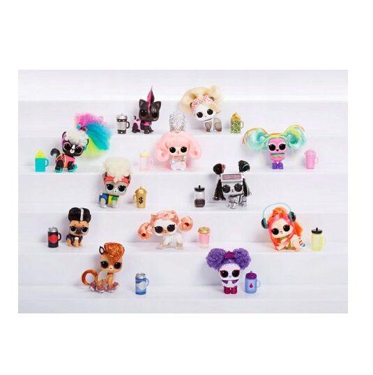 MGA 564898 LOL Surprise! Lights Pets with Real Hair, LOL dzīvnieks ar īstiem matiem