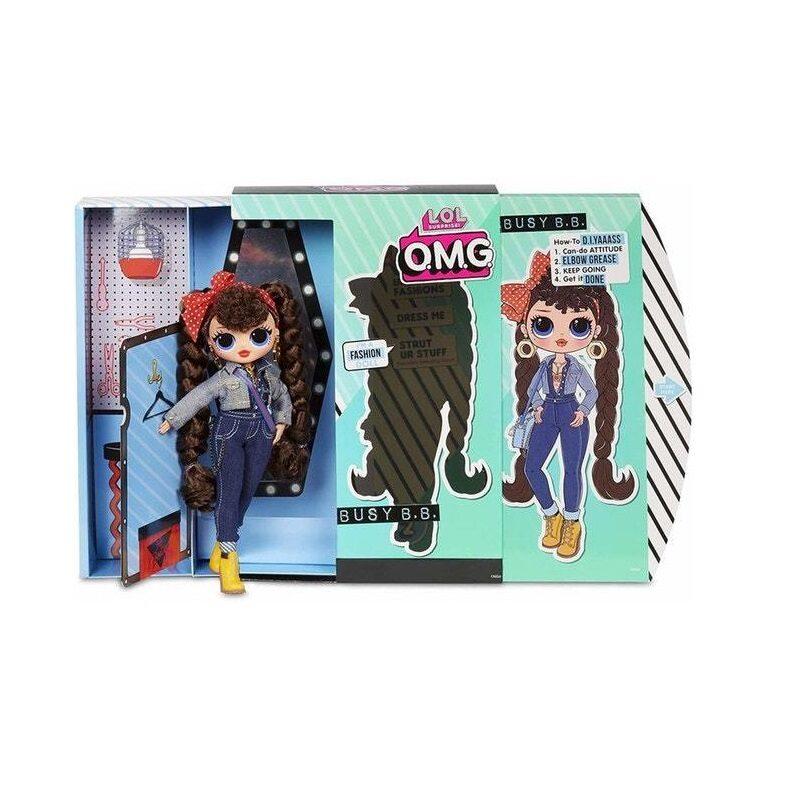 MGA 565116 - LOL Fashion Doll Colourful Busy BB , lol omg busy b b lelle