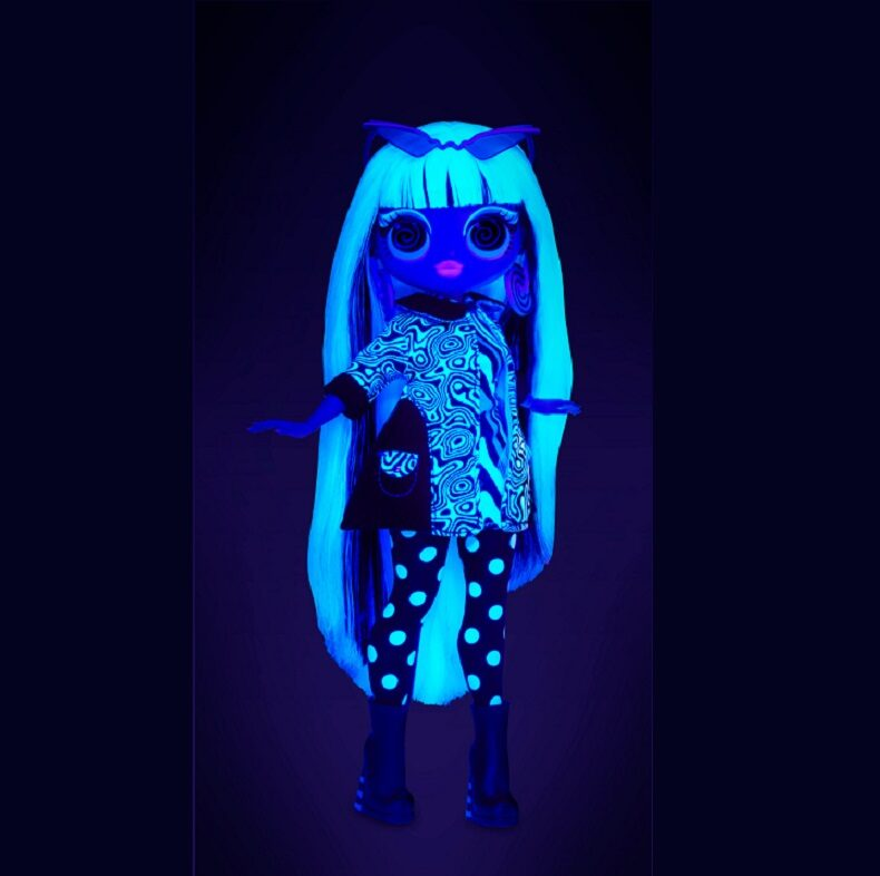 MGA 565154 - L.O.L. Surprise OMG Doll Lights Series Groovy Babe,  lol groovy lelle