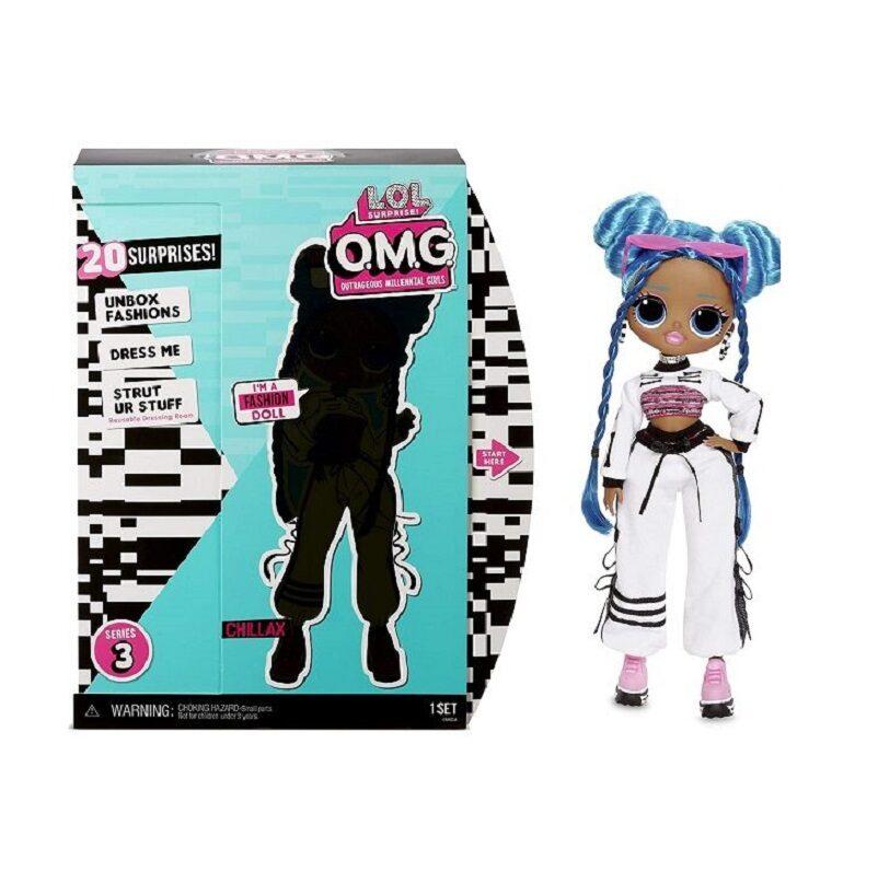 MGA 570165 - L.O.L. Surprise OMG Series 3, Chillax, lol chillax lelle