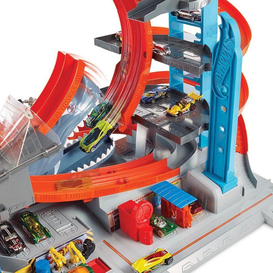 Hot Wheels - FTB69  Mega garāža ,autostāvvieta