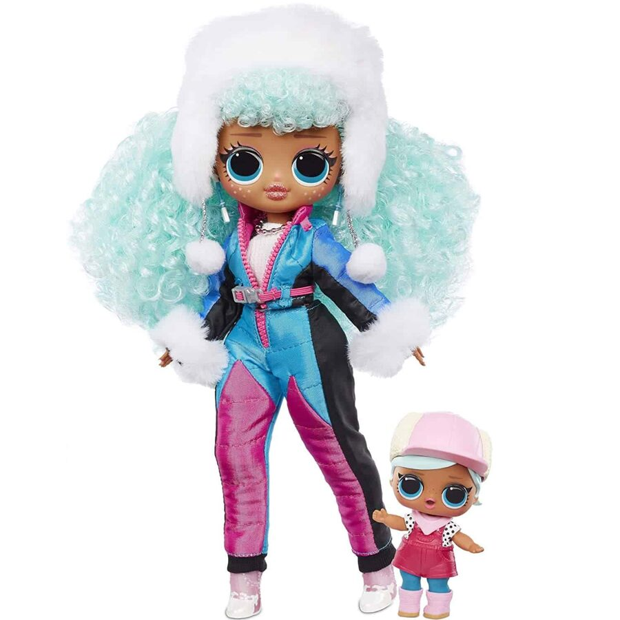 MGA 570240 - LOL Surprise OMG Winter Chill Icy Gurl lelle ar Brrr B.B. mazo māsu
