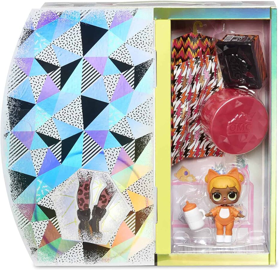 MGA 570271 - LOL Surprise OMG Winter Chill Missy Meow lelle ar Baby Cat mazo māsu