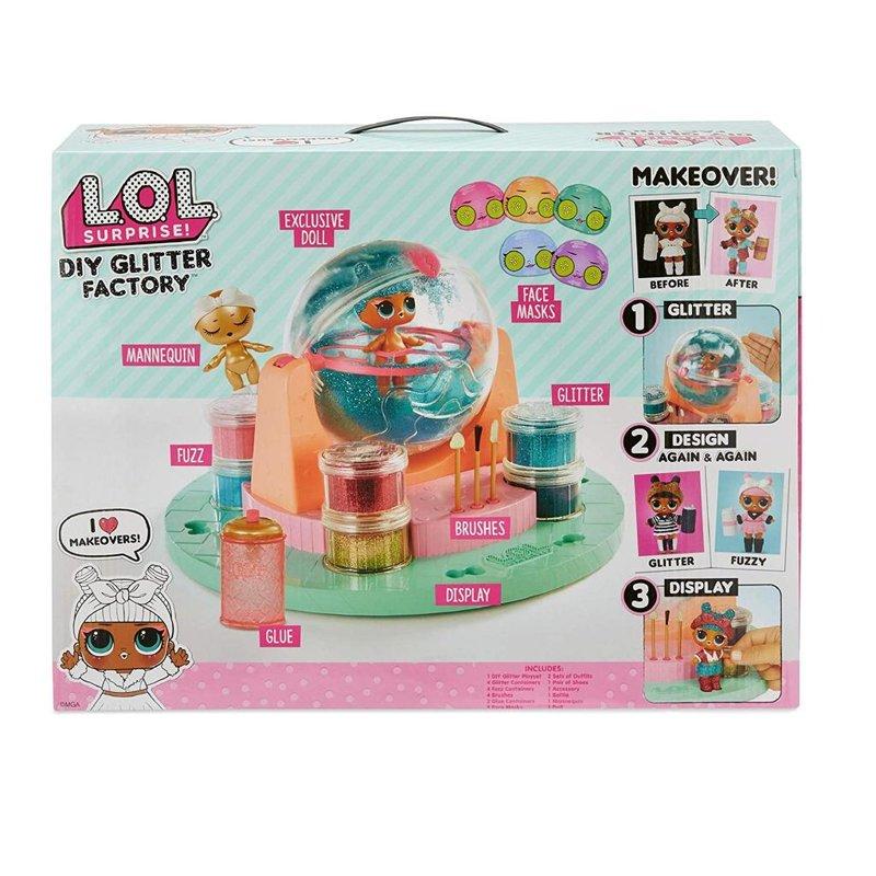L.O.L. Surprise! DIY Glitter Factory, LOL Glitter fabrika