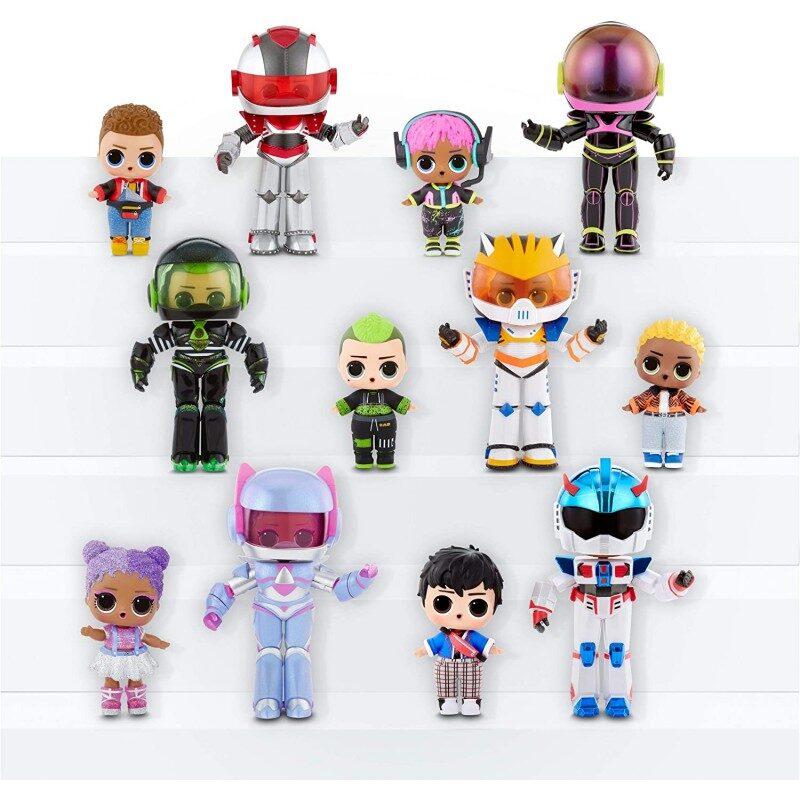 MGA 569374 LOL Surprise Boys Arcade Heroes Gear Guy lol puiši spēļu varoņi