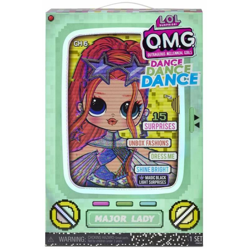 MGA 572985 - L.O.L. Surprise! OMG Major Lady Dance lelle lol