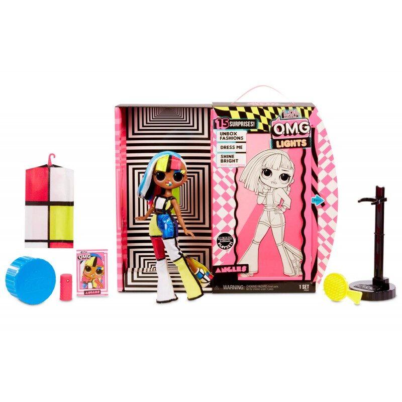 MGA 565178 L.O.L. Surprise! OMG Lights Series Fashion Doll Angles, lol angels lelle