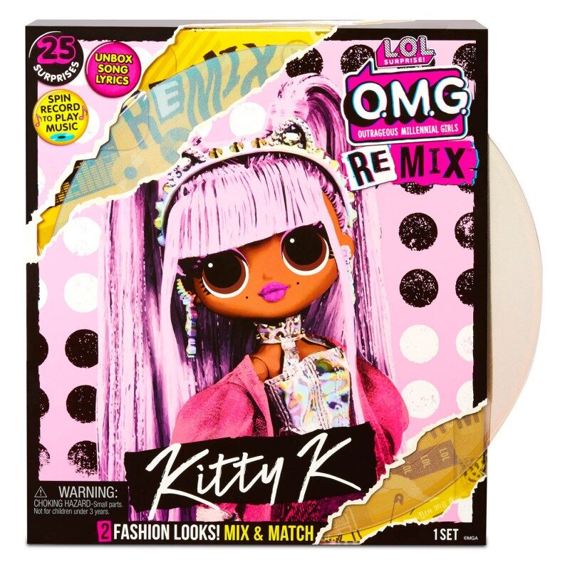 MGA 567240 - L.O.L. Surprise! OMG Remix Kitty K lelle, lol omg remix Kitty K