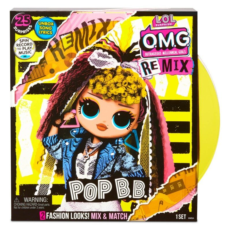 MGA 567257 - L.O.L. Surprise! OMG Remix Pop B.B. lelle, lol omg remix Pop BB
