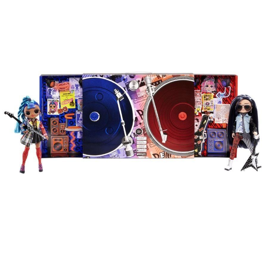 MGA 567288 - LOL Surprise OMG Remix Rocker Boi and Punk Grrrl lelles