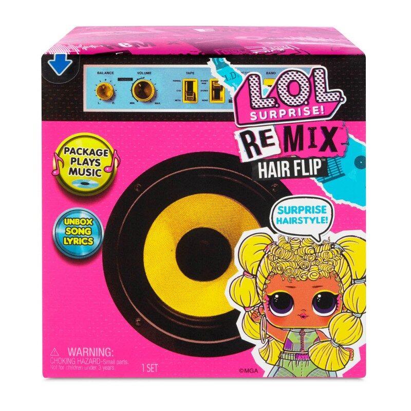 MGA 556960 - L.O.L. Surprise! Remix Hair Flip Lelles , lol remix
