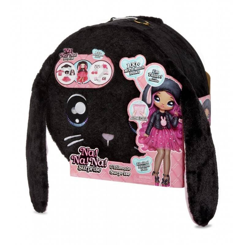 MGA - 571827 Na! Na! Na! Ultimate Surprise - Black Bunny
