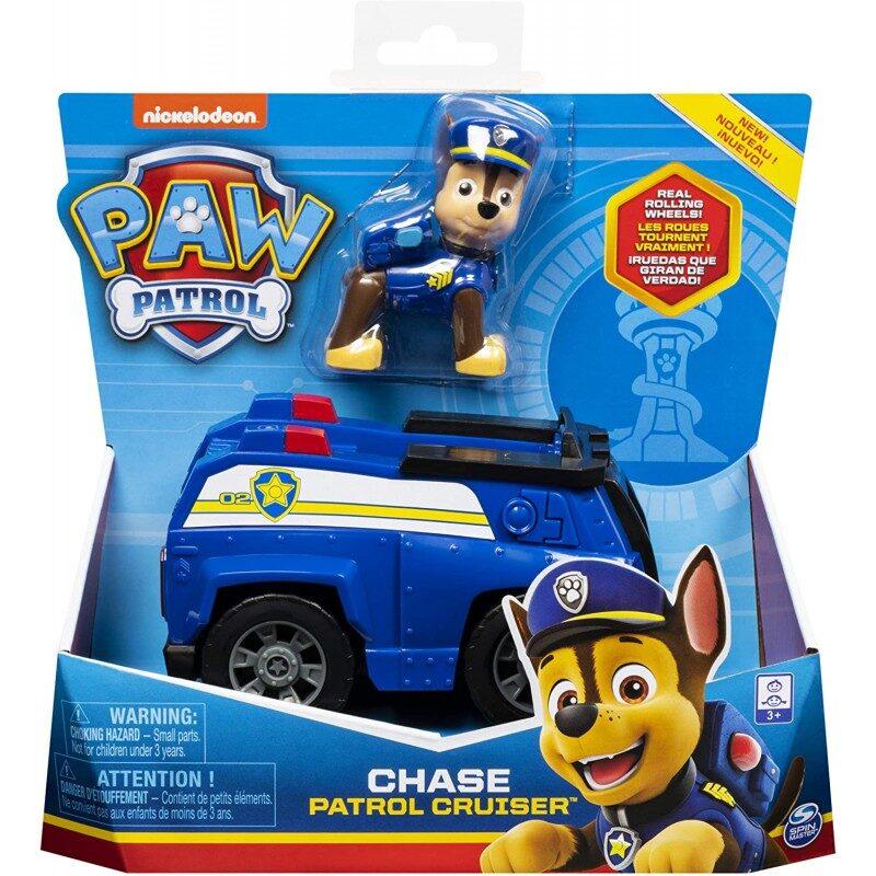 Paw Patrol Chase patruļas mašīna.