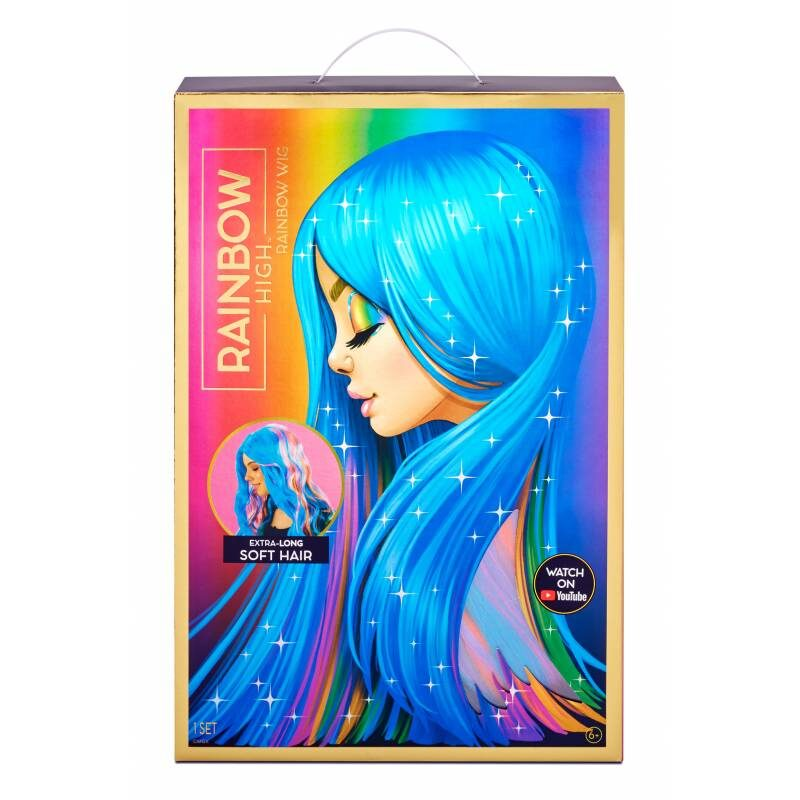 MGA 572534 - Rainbow High Amaya Raine Parūka parik