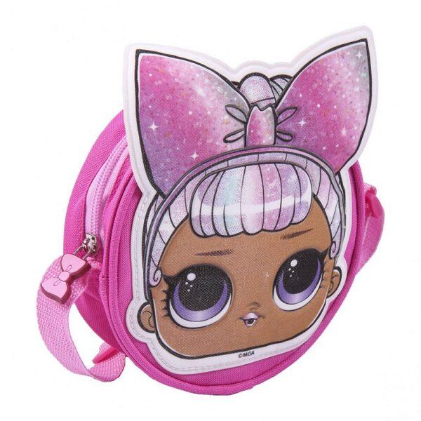 L.O.L. Surprise! Mazā somiņa pāri plecam LOL rozā
