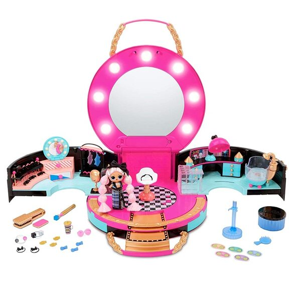 MGA 571322 - LOL Surprise Hair Salon Playset J.K. Beauty, lol frizētava