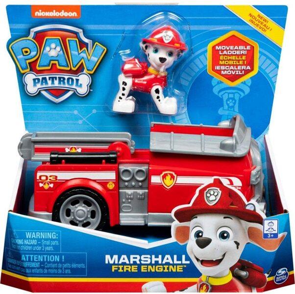 Paw Patrol Marshall automašīna