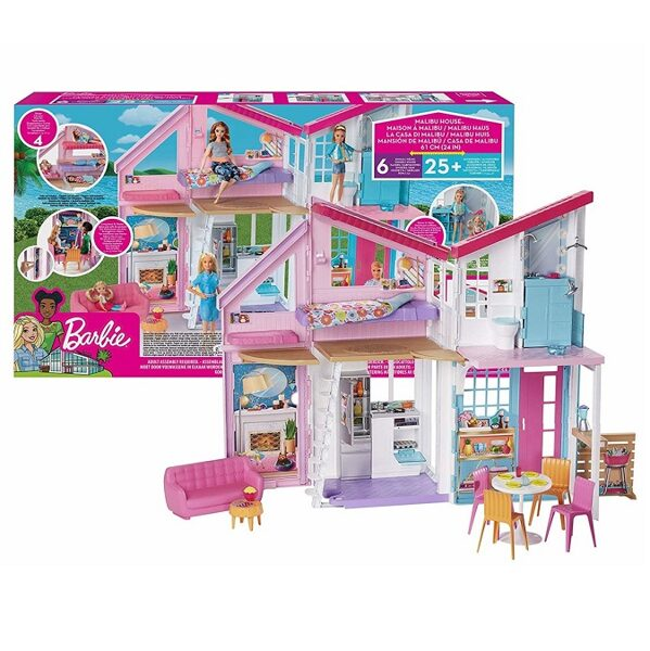 Mattel FXG57 - Barbie Malibu Leļļu māja Dream House