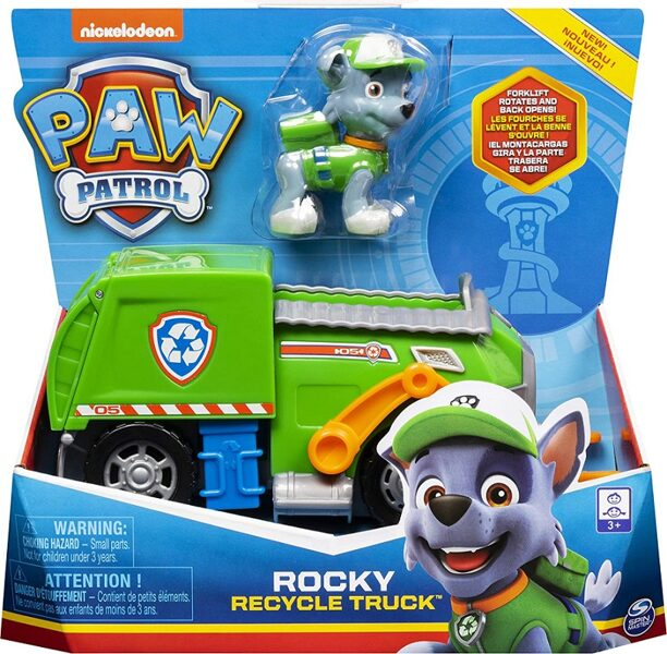 Paw Patrol  Rocky glābšanas transportlīdzeklis