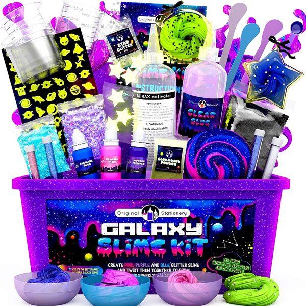 Galaxy DIY Slime Set for Girls and Boys - Uztaisi Pats Galaktikas slime Meitenēm un Puišiem