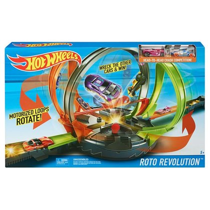 Hot Wheels Roto Revolution Trackset FDF26