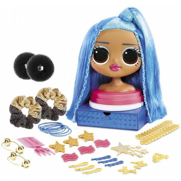 MGA 572022 - L.O.L. Surprise! OMG Miss Independent Styling Head galva matu ieveidošanai