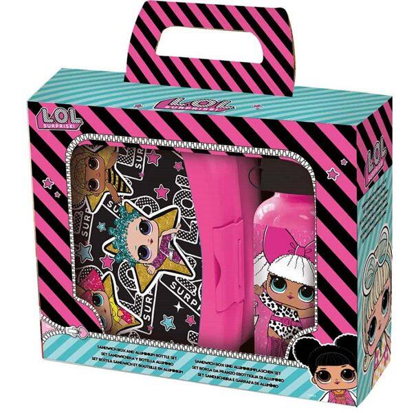 L.O.L. Surprise! Pusdienu kastīte ar pudelīti.