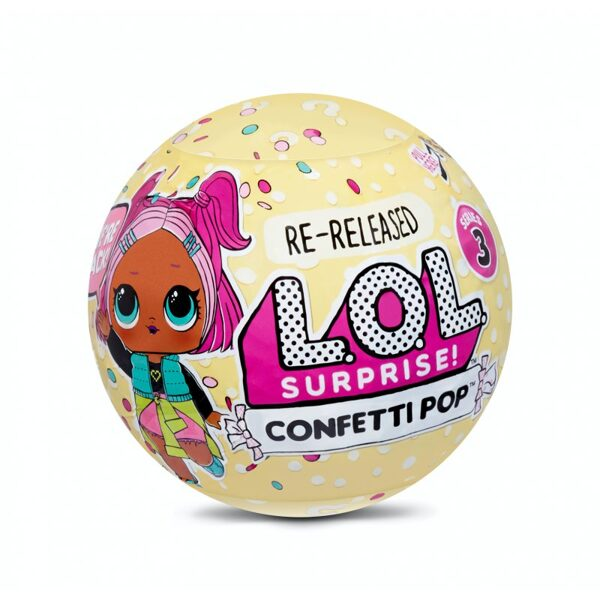 MGA - L.O.L. Surprise! Confetti Pop re-release lol viena bumba
