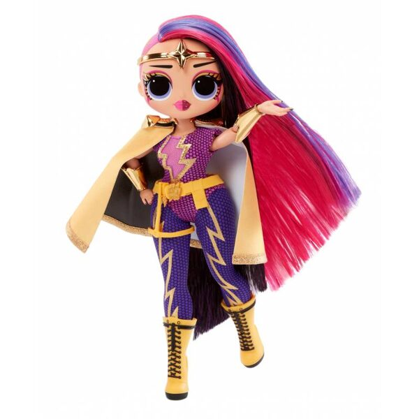 MGA 577904 - LOL Surprise OMG Movie Magic Ms. Direct Fashion Doll modes lelle ar 25 pārsteigumiem