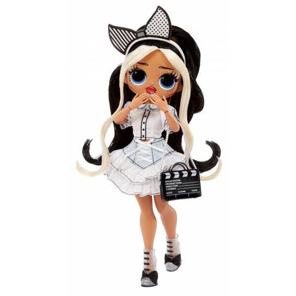 MGA 577911 - LOL Surprise OMG Movie Magic Starlette Fashion Doll modes lelle ar 25 pārsteigumiem