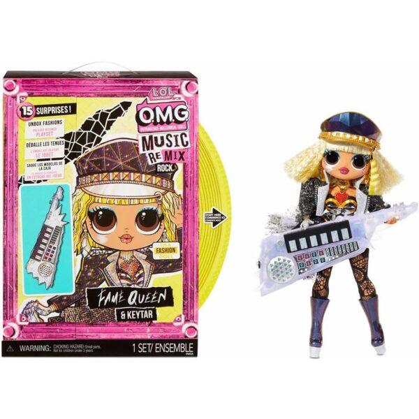 MGA 577607 - L.O.L. Surprise! OMG Remix Rock Fame Queen lol lelle