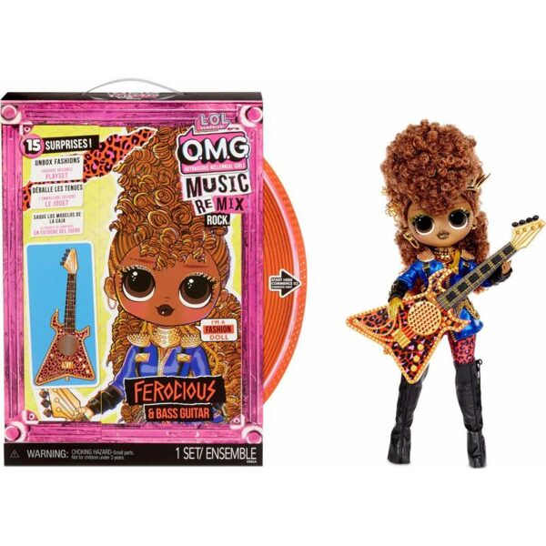 MGA 577591 - L.O.L. Surprise! OMG Remix Rock Ferocious lol lelle