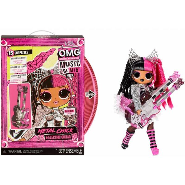 MGA 577577 - L.O.L. Surprise! OMG Remix Rock Metal Chick lol lelle