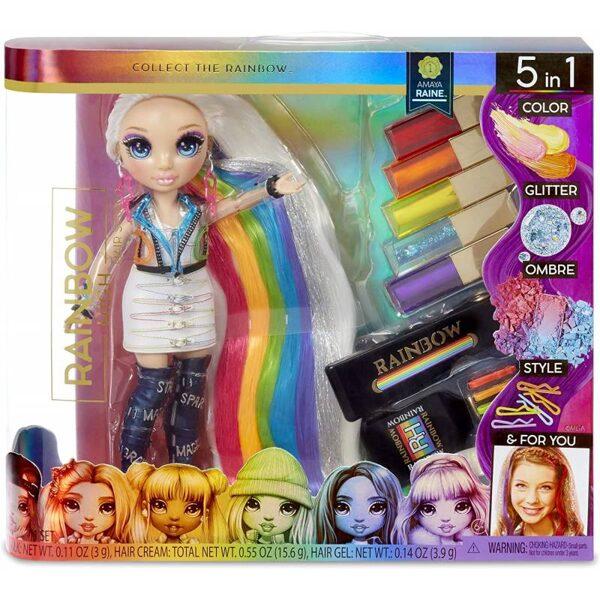 MGA 569329 - Rainbow High Hair Studo, Frizētāva un Amaya Raine lelle