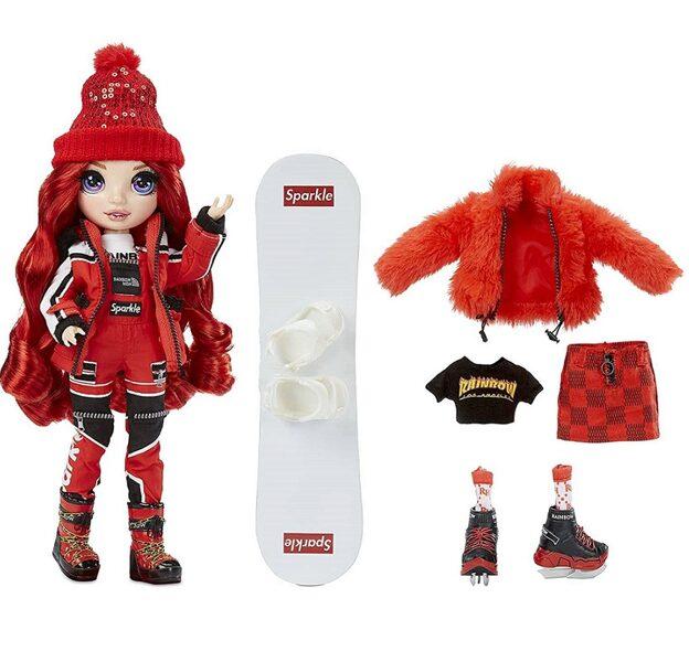 MGA 574286 - Rainbow High Ruby Anderson Winter Break ziemas lelle