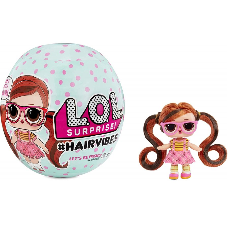 LOL Surprise Hairvibes Dolls Mix & Match Hairpieces